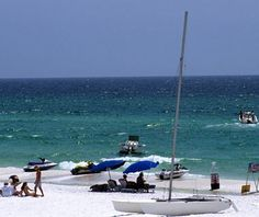 """Santa Rosa Beach, FL prides itself on its hiking and biking trails, as well as its Caribbean-style artists' colony.Stay: Architect David Rockwell designed the airy-looking WaterColor Inn & Resort, where you get free use of bicycles, fishing gear, and kayaks that you can paddle around its on-site dune lake.Eat: Stop in for a cappuccino, ice cream, an """"outrageous cinnamon roll,"""" or even just a beer at Miss Lucille's Gossip Parlor."""