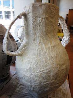 Paper Mache Greek Vases