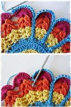 news – crochet pattern Crochet Mandala Pattern, Granny Square Crochet Pattern, Crochet Flower Patterns, Freeform Crochet, Crochet Stitches Patterns, Crochet Squares, Diy Crochet, Crochet Designs, Crochet Crafts