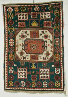 Caucasian Kazak Karachov rug, last quarter 19th century