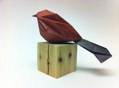 Bird by Beth's Origami, via Flickr