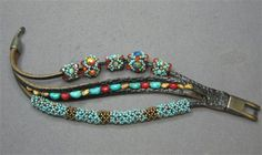 Beaded leather bracelet - Editors' Blog - Bead Magazine - Online Community, forums, blogs, and photo galleries