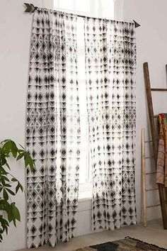 Magical Thinking Trikona Triangle Curtain - Urban Outfitters