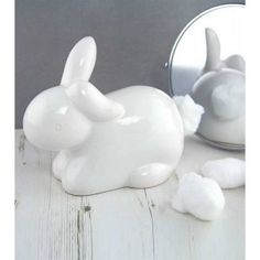 Cute Wonderland Bunny Cotton Tail Cotton Wool Dispenser coming soon to Truffle Shuffle Truffle Shuffle, Wonderland, Gadgets, Bunny Tail, Bunny Rabbit, Ball Jars, Red Candy, Unusual Gifts, Decoration