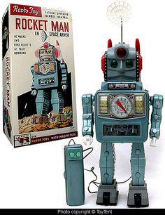 Rocket Man Robot - Rosko Toys
