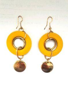 Retail Price, Coding, Personalized Items, Yellow, Earrings, Ear Rings, Stud Earrings, Ear Jewelry, Pierced Earrings