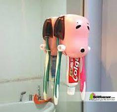 Dog Head Toothpaste Holder