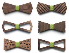 BÖ by Mansouri Wooden Bow Ties