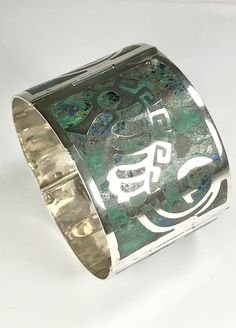 Excited to share the latest addition to my #etsy shop: Sterling Seahorse Bracelet Mid Century Taxco Signed Castaneda Eagle 3 Mark