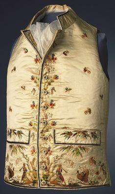 Waistcoat, 1780–95,