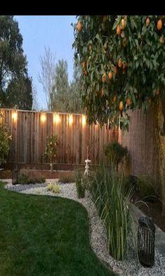 Rustic Backyard, Small Backyard Landscaping, Backyard Fences, Landscaping Ideas, Backyard Ideas, Patio Ideas, Outdoor Landscaping, Fence Ideas, Mailbox Landscaping
