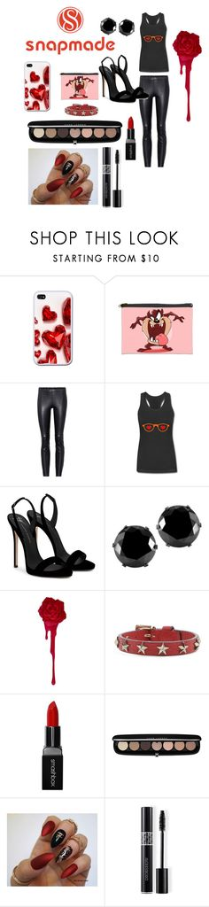 """""""Snapmade 26/7/2017"""" by giulia-ostara-re ❤ liked on Polyvore featuring STOULS, Giuseppe Zanotti, West Coast Jewelry, RED Valentino, Smashbox, Marc Jacobs and Christian Dior"""