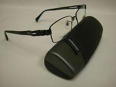 Giorgio Botto Men's Titanium Eyeglass Frame with TR temples - Elegant & stylish!!!