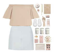"""""""Sunny day"""" by child-of-the-tropics ❤ liked on Polyvore featuring Pottery Barn, Topshop, Umbra, TIBI, Shandell's, Yves Saint Laurent, HAY, Acne Studios, Pieces and Mason Cash"""