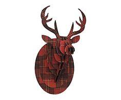 M s de 25 ideas incre bles sobre cabezas de ciervo en pinterest trabajador decoraci n de la - Cabeza ciervo carton ...