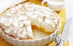 12 Creative Recipes For Lemon Meringue Desserts Almond Recipes, Pie Recipes, Sweet Recipes, Lemon Meringue Cake, Meringue Desserts, Cheesecake, Food Processor Recipes, Bakery, Sweet Treats