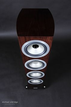 Tannoy Precision 6.4 Speakers - Convex Cabinet