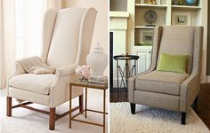 Nailhead upholstered chairs #trend
