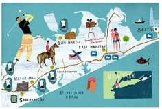 Martin Haake - Hamptons map