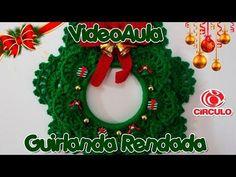 Guirlanda Rendada em Crochê - YouTube