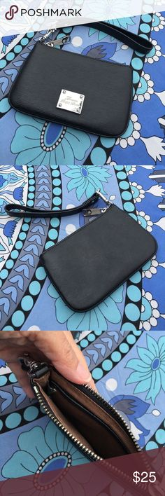 Lauren Ralph Lauren Wristlet Black wristlet. Interior tag has been cut out, otherwise in excellent condition. Lauren Ralph Lauren Bags Clutches & Wristlets