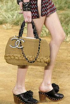 Crochet + Bag + Chanel