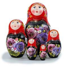 Matryoshka `Summer` Nesting Doll - List price: $72.49 Price: $54.61