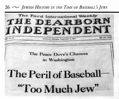 images deerborn independent | Henry Ford's anti-Semitic Dearborn Independent of Sept. 3, 1921
