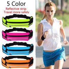 HOT! free shippig 5 color women sports running Accessory  mulifunction movement pocket  vibe running bag waist bag