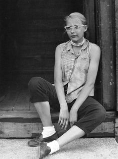 A Minneapolis teenager photographed by Jerome Liebling, 1953.