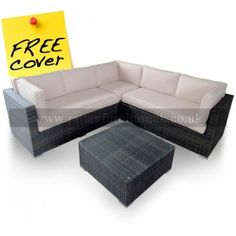 The Cover for Maze Rattan Porto Corner Sofa Set is designed to protect your garden furniture from the direct exposure of potentially damaging elements such as snow, frost, dirt, rain, sun and wind. Although rattan furniture is incredibly weatherpr Rattan Furniture, Garden Furniture, Outdoor Furniture, Outdoor Decor, Garden Sofa Set, Corner Sofa Set, Garden Ideas, Design, Home Decor