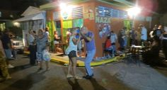 To really experience Puerto Rican culture, one must go bar hopping, or 'chinchorreando' in Puerto Rico's 'chinchorros' ! Puerto Rico, Go Bar, Puerto Rican Culture, Enchanted Island, Usa Today, Store Fronts, Beautiful Islands, Travel Usa, Traveling By Yourself