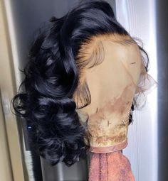 Short Bob Wigs, Short Bob Hairstyles, Weave Hairstyles, Pretty Hairstyles, Human Hair Lace Wigs, Remy Human Hair, Remy Hair, Natural Hair Styles, Short Hair Styles