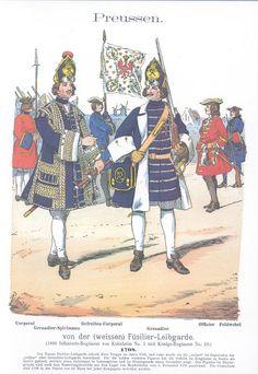 Band I #17 - Preußen. Füsilier-Leibgarde. 1708
