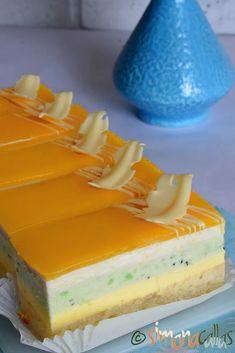 Kiwi, Sweets Recipes, Cake Recipes, Desserts, Coco, Mousse, Cheesecake, Pie, Bakken