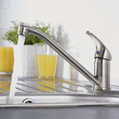 The Milano kitchen sink tap will add smart modern style to any kitchen Kitchen Sink Taps, Sink Mixer Taps, Modern Design, Style, Stylus, Contemporary Design