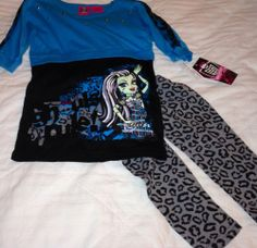 Monster High Girl's Outfit New With Tags Clothing