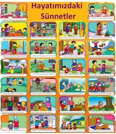 Poster 33 Pesan Nabi For Kids 33 Pesan Nabi Muhammad For Kids<br> Foster Parenting, Gentle Parenting, Kids And Parenting, Teaching Kids, Kids Learning, Prophets In Islam, Adhd Strategies, Ramadan Crafts, Islam For Kids
