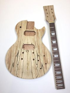 Gibson les paul junior double cutaway diy electric guitar kit parts diy les paul spalted maple unfinished electric guitar kit reverb solutioingenieria Image collections
