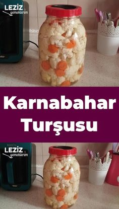 Karnabahar Turşusu – Leziz Yemeklerim – Sarma ve dolma tarifi – The Most Practical and Easy Recipes Pickled Cauliflower, Cauliflower Salad, Cauliflower Recipes, Roasted Cauliflower, Peanut Butter Cheerio Bars, Turkish Recipes, Homemade Beauty Products, Bon Appetit, Pickles