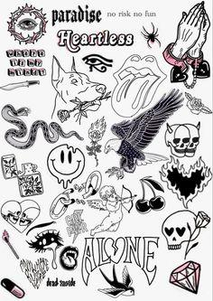 Dope Tattoos, Pretty Tattoos, Mini Tattoos, Body Art Tattoos, Sleeve Tattoos, Tatoos, Anime Tattoos, Small Tattoos, Kritzelei Tattoo