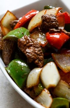 Chili Garlic Beef Stir Fry with Coconut Jasmine Rice