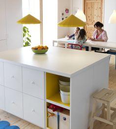 Mooie witte opbergplekken #IKEAwin