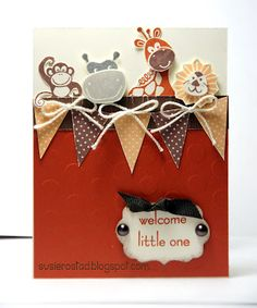 Baby Card Stampin' Up!