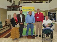FVC partners closely with National AgrAbility Project and their network of statewide affiliates. AgrAbility has been helping farmers with disabilities for decades and now helps many veterans. Here FVC Director Michael OGorman (center) is with farmer veterans (l to r) Kym, Mike, Eric and Don at this weeks conventon in Minneapolis. Not in the picture are Vincent and Larry.