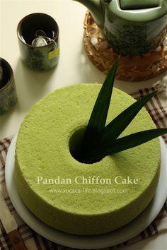 斑兰戚风 (Pandan Chiffon)