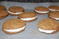 Oatmeal whoopie pies#Pin By:Pinterest++ for iPad# Whoopie Pies, Oatmeal, Deserts, Ipad, Cookies, Sweet, The Oatmeal, Crack Crackers, Candy