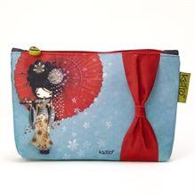 Trousse cosmétique Ketto - Geisha / Ketto's  cosmetic bag- Geisha - *Fabriqué à 80% de bouteilles de plastique recyclées / Made of 80% of recycled plastic bottles* www.kettodesign.com