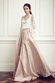 jenny packham // that skirt is majestic