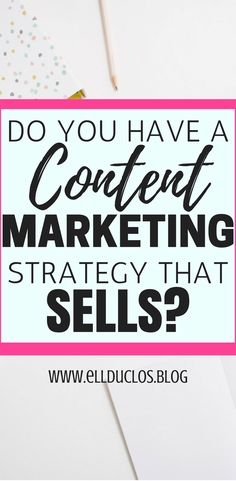 Do you have a content marketing strategy that sells??? It's time to look into your content marketing strategy and see if you canTWEAK your methods. These are some content marketing strategies that have took my blog and biz and replaced my full time job! Work from home and turn your blog into a career.